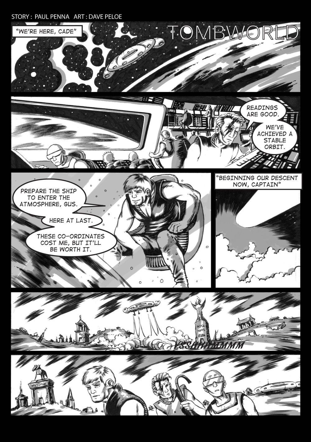 Tomb World Page 1
